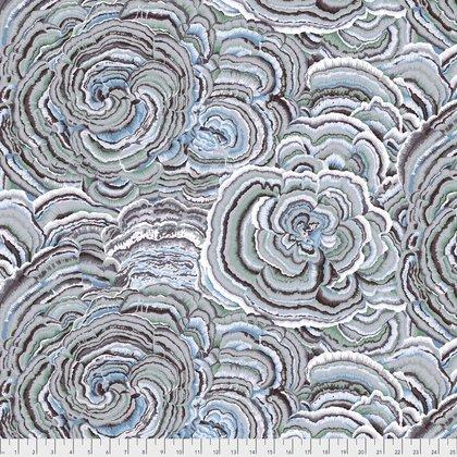 Tree Fungi Fat Quarter - Contrast by Kaffe Fassett for FreeSpirit Fabrics