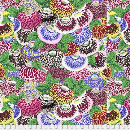 Lady's Purse Fat Quarter - Natural by Kaffe Fassett for FreeSpirit Fabrics