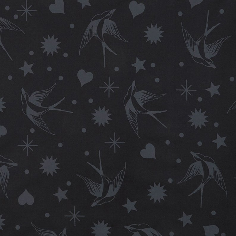 Fairy Flakes Fabric - Ink Linework Collection by Tula Pink from Free Spirit Fabrics