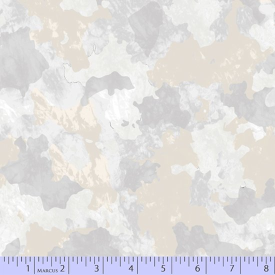 Camo Fabric - Beige Incognito Collection from Marcus Fabrics