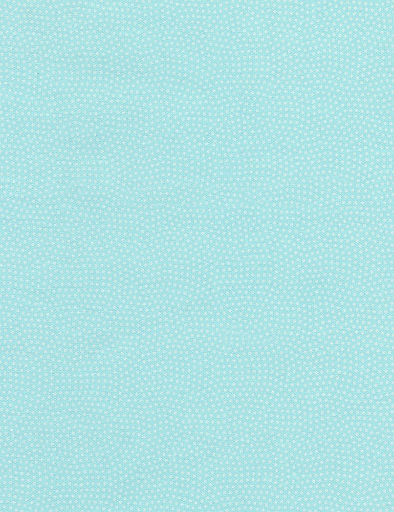 Spin Basic Fabric - Aqua by Timeless Treasures