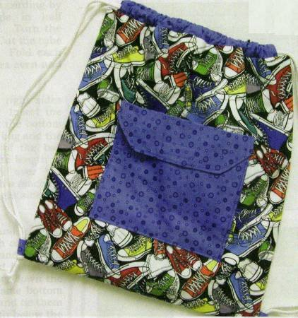 Easy Backpack Kit with QT Fabrics & Pattern by The Quilt Company