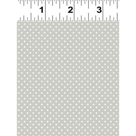 Taupe Polka Dot Fat Quarter by Ellen Crimi-Trent for Clothworks