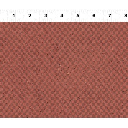 Rust Checkerboard Fat Quarter Espresso Yourself Collection by Dan DiPaolo for Clothworks
