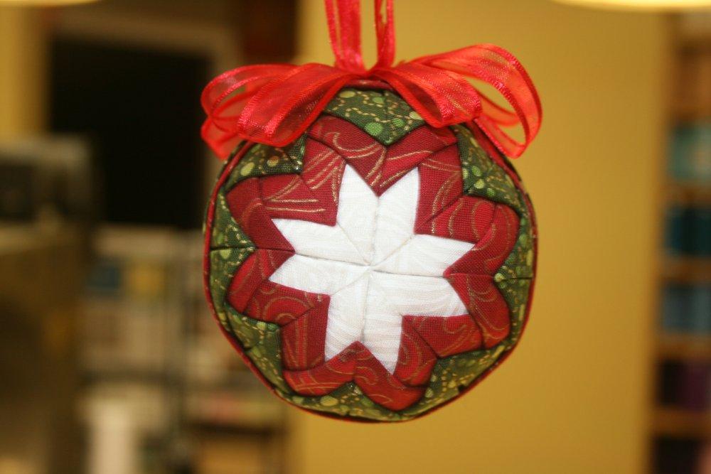 Prairie Point Star Ornament