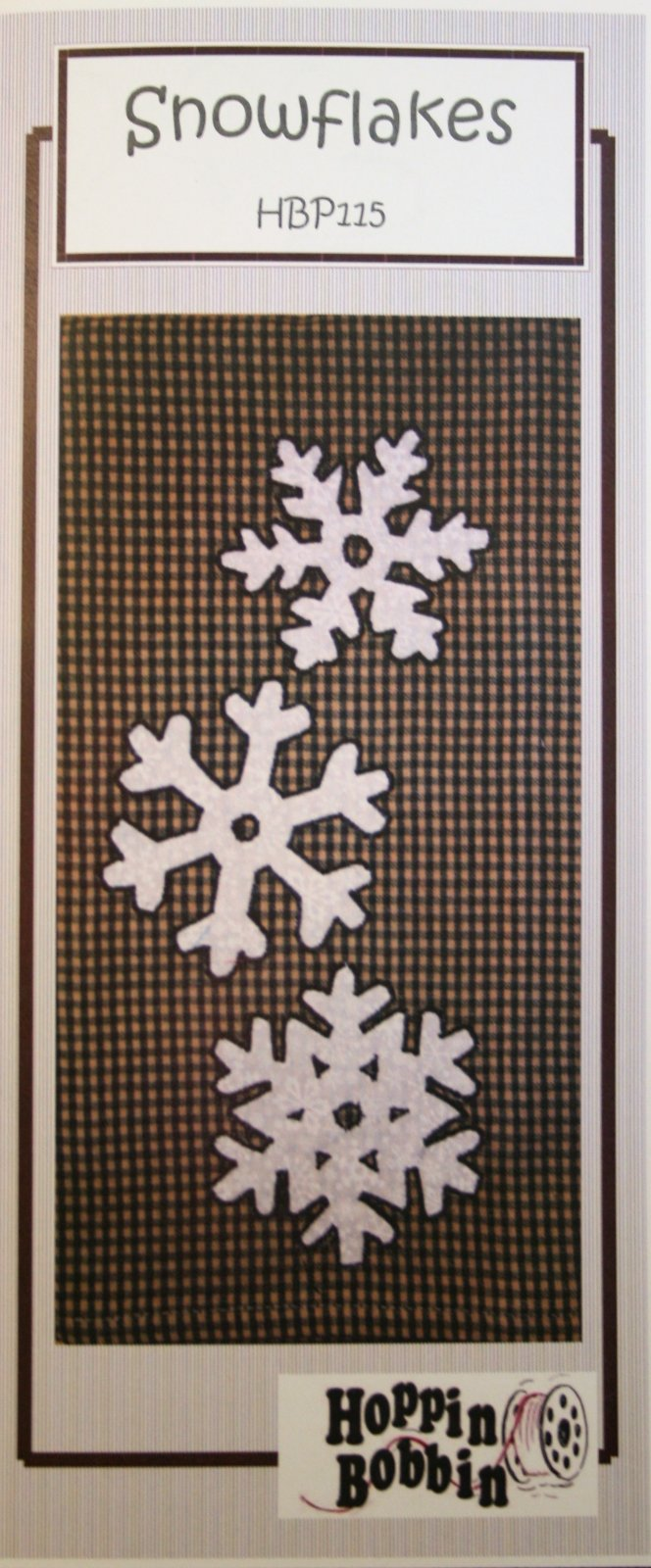 SNOWFLAKES PATTERNLETTE