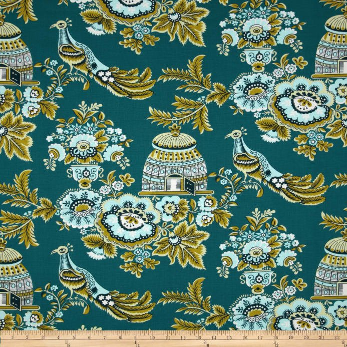 Belle - Royal Garden - Turquoise - Amy Butler