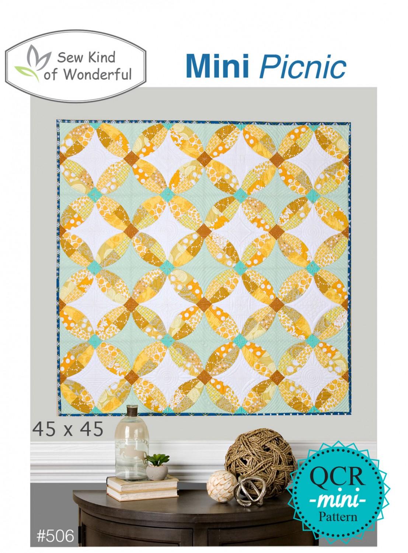 Mini Picnic Quilt Pattern- Sew Kind of Wonderful