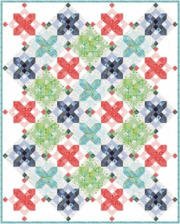 Snowflakes Quilt Pattern- One Canoe Two