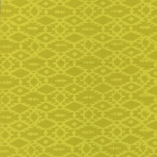 1 YARD- Southwestern Weave- Pineapple- Me + You- Hoffman Fabrics
