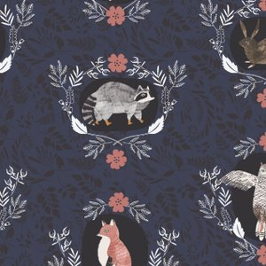 Foxtail Forest- Rae Ritchie- Beyond The Brush- Navy
