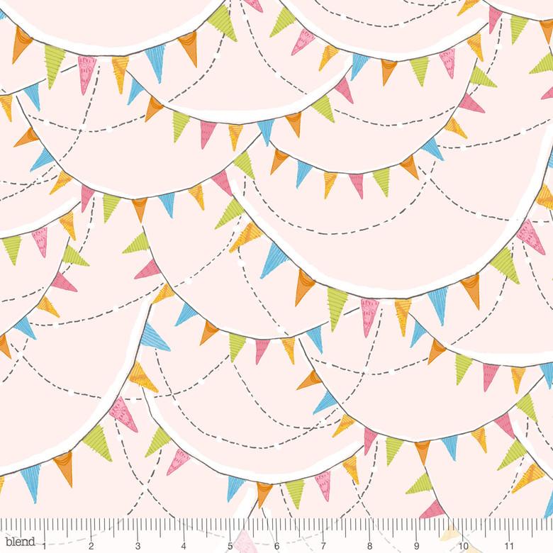 2 YARDS- Promise of Spring- Glory Days- Pink- Cori Dantini- Blend Fabrics