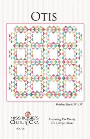 Otis Quilt Pattern- Miss Rosie's Quilt Co.
