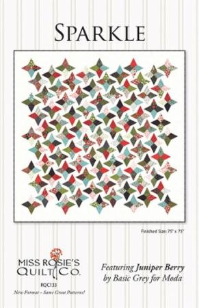 Sparkle Quilt Pattern Miss Rosies Quilt Co