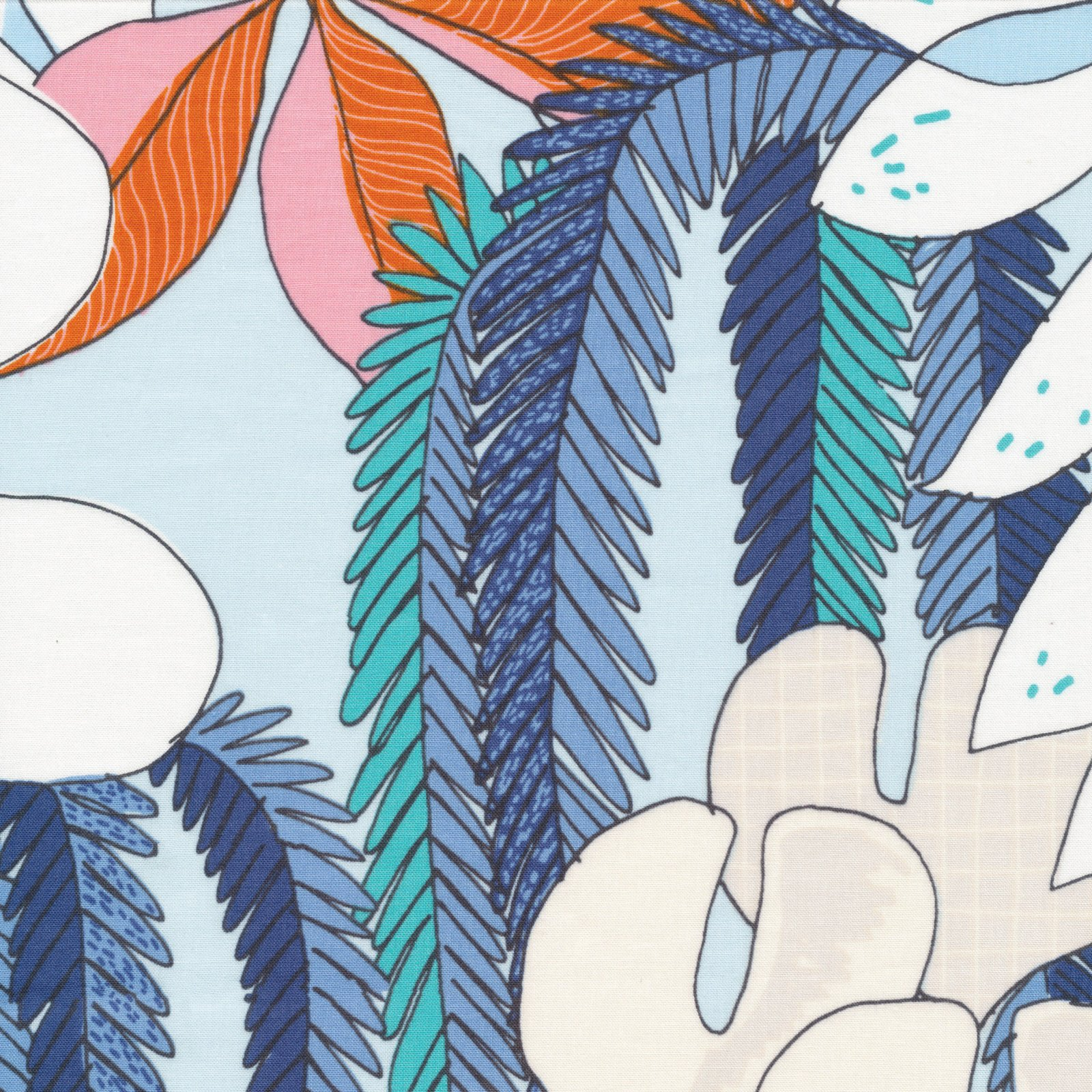 Terrestrial- Epiphyte- Sarah Watson- Cloud 9 Fabrics