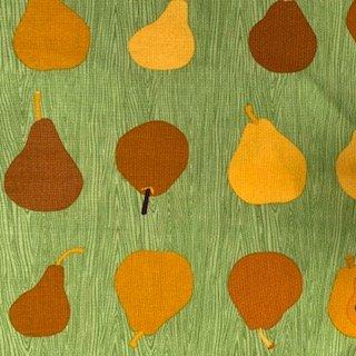 2 YARDS- Metro Market- Pears- Green- Robert Kaufman Fabrics