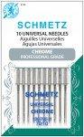 Universal Needles- Chrome Professional Grade 70/10- Schmetz