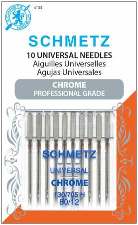 Universal Needles- Chrome Professional Grade 80/12- Schmetz