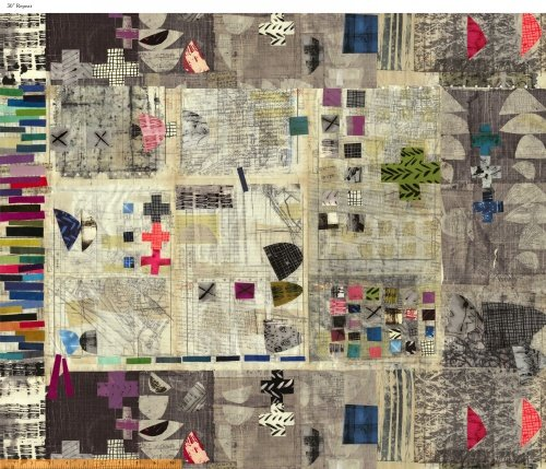 Treasure Hunt- Digital Printed 30 Panel- Marcia Derse- Windham Fabrics