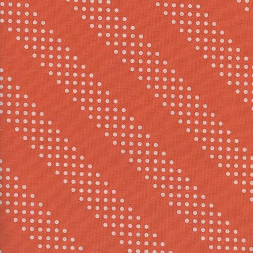 Cotton + Steel Basics - Dottie - Tangerine
