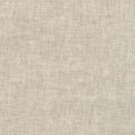 1/2 YARD- Essex Yarn Dyed Linen- Flax- Robert Kaufman