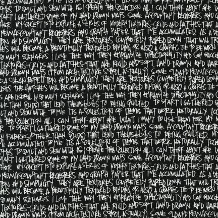 Architextures - Scribble Notes - Black - Carolyn Friedlander
