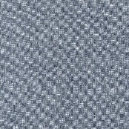 Essex Yarn Dyed Linen - Robert Kaufman - Indigo