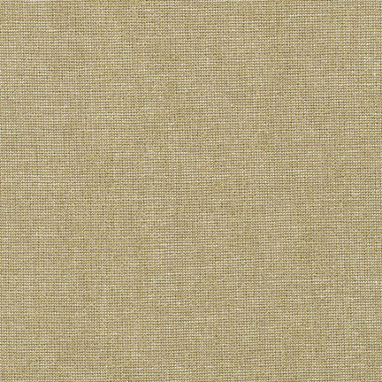 Essex Yarn Dyed Linen Metallic- Robert Kaufman- Camel