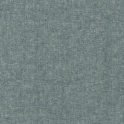 Essex Yarn Dyed Linen Metallic- Robert Kaufman- Storm