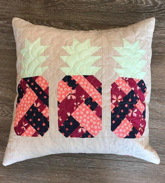 Pineapple Farm Pillow Kit - Monaluna Fabric