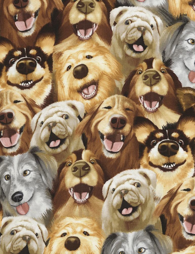 Selfie Dogs- Timeless Treasures