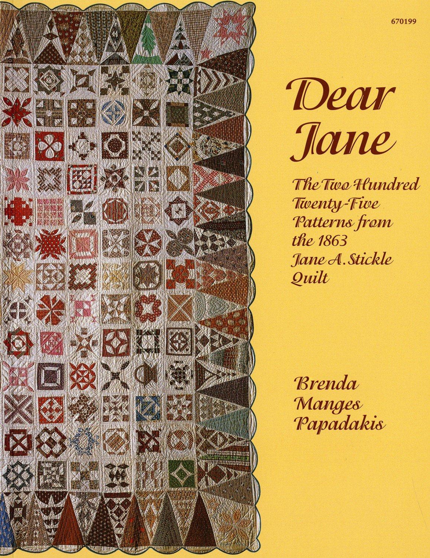 Dear Jane- Brenda Manges Papadakis