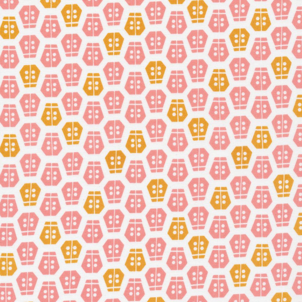 Vignette- Aneela Hoey- Cloud 9- Organic- Ladybug- Pink