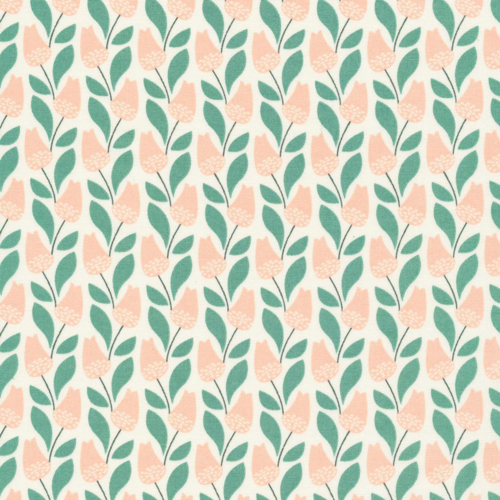 Park Life- Elizabeth Olwen- Organic Cotton- Bloomsbury- Pink