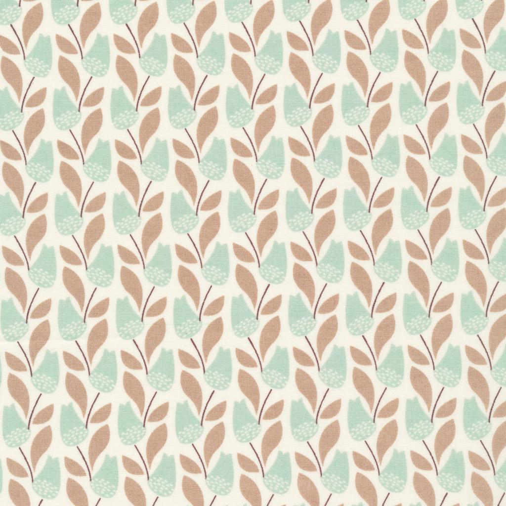Park Life- Elizabeth Olwen- Organic Cotton- Bloomsbury- Turquoise