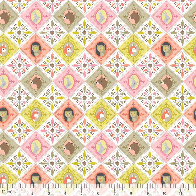 Born Wild- Ana Davis- Patchwork- Pink