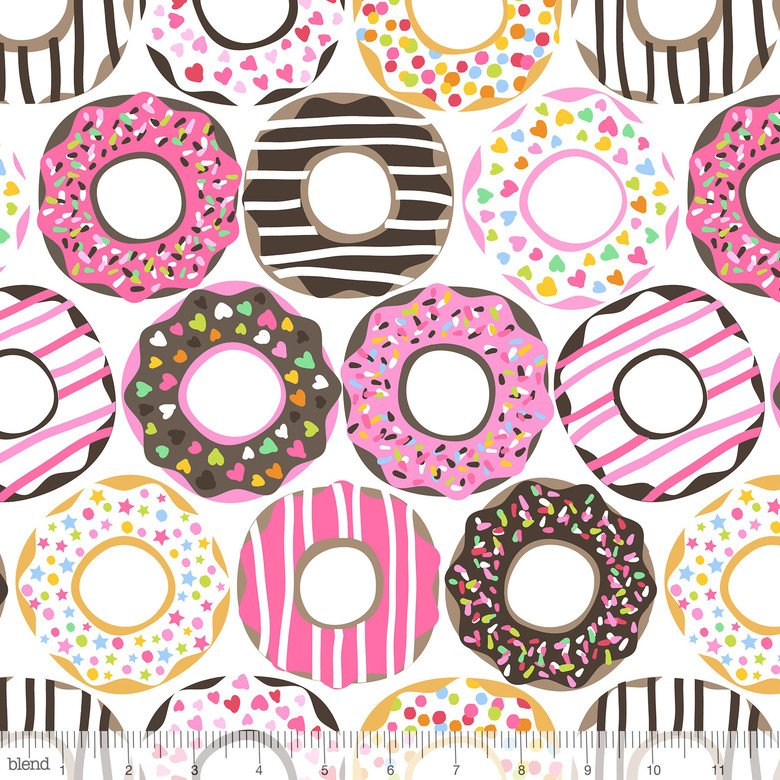 Lolly- Doughnut Love- White