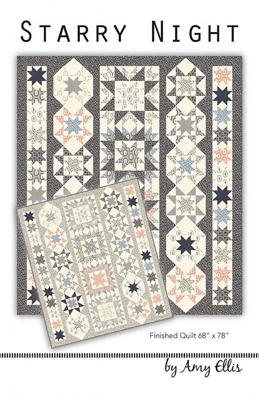 Starry Night Quilt Pattern- Amy Ellis