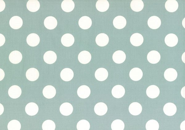 Flower Sugar - Polka Dot - Light Blue - Lightweight Canvas - Lecien