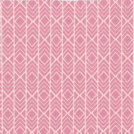 2 2/3 YARDS- Pond - AZH-16620-97 - Rose  - Elizabeth Hartman