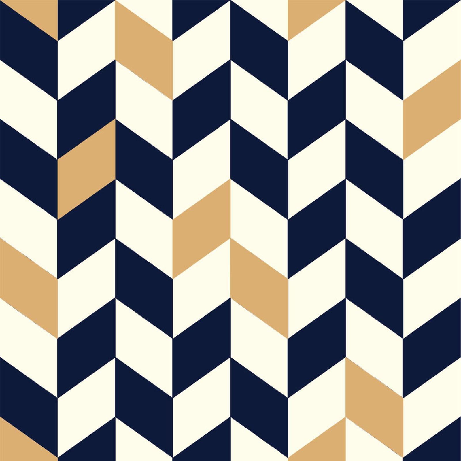 Mod Nouveau- Offset- Navy- Jay-Cyn- Birch Fabrics- Organic Cotton