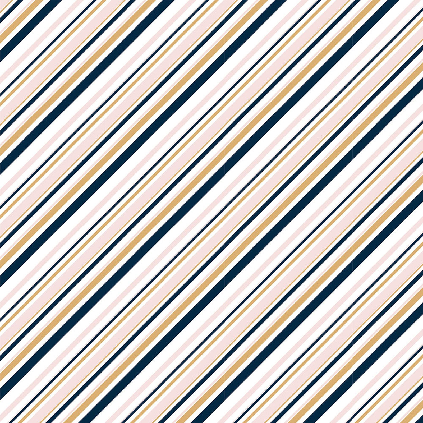 Mod Nouveau- Stripe- Blush- Jay-Cyn- Birch Fabrics- Organic Cotton