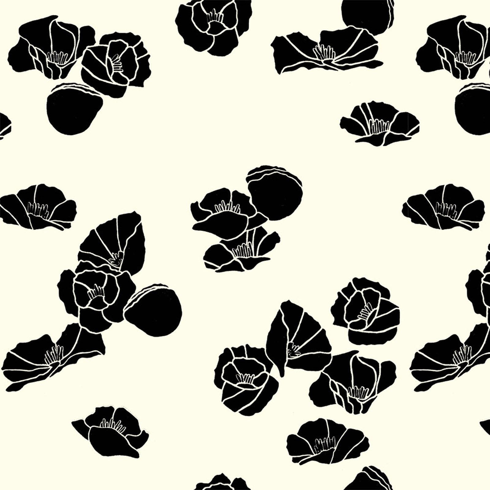Inkwell- Cali Pop- Black- Jay-Cyn- Birch Fabrics