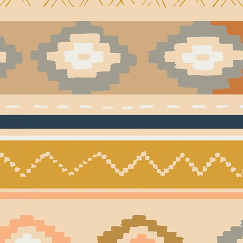 1/2 YARD- Bound- April Rhodes- Bound Canvas