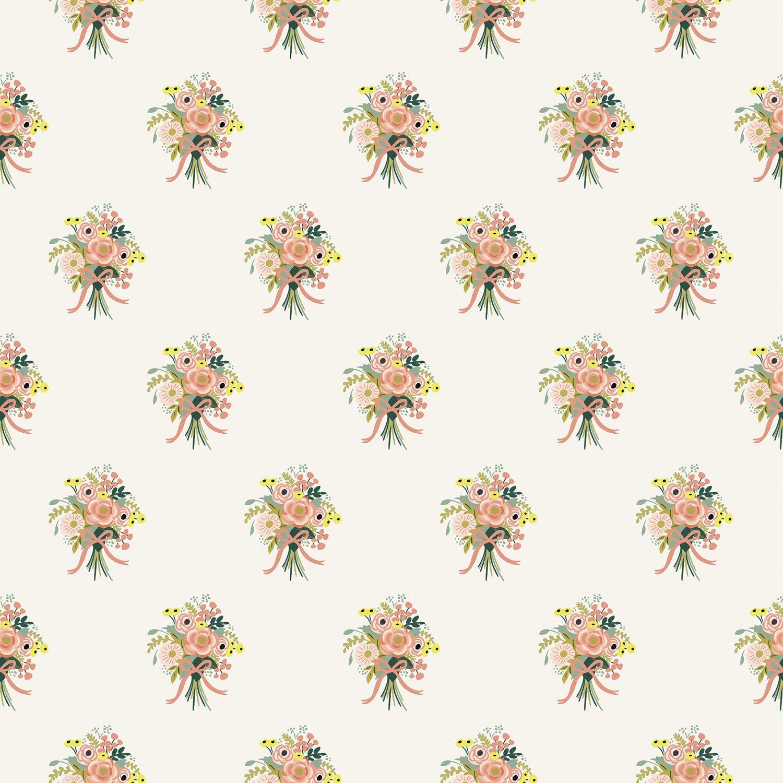 English Garden- Bouquets- Cream- Rifle Paper Co- Cotton + Steel