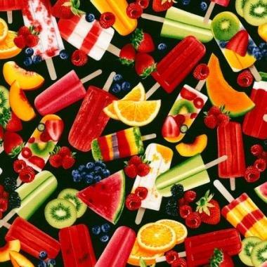 Sugar Rush- Popsicle- Brite- Timeless Treasures