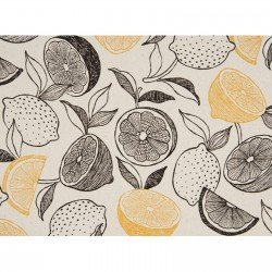 Citrus- Natural- Lightweight Canvas- Japanese Import