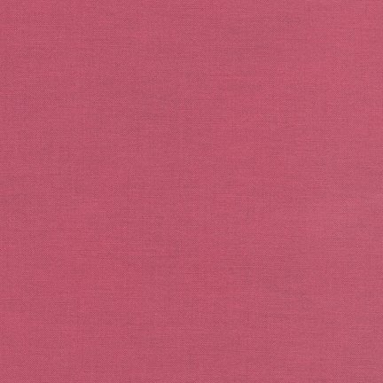 3/4 YARD- Kona Cotton- Deep Rose- Robert Kaufman
