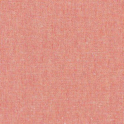 Essex Yarn Dyed Linen Metallic- Robert Kaufman- Dusty Rose