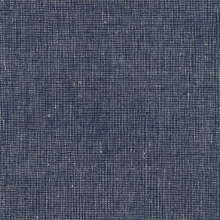 Essex Yarn Dyed Homespun- Navy- Robert Kaufman
